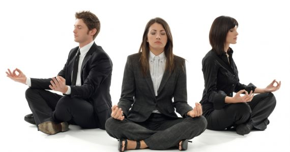 Corporate Office Yoga & Wellbeing in Glasgow