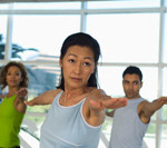 Women and Men Practising Complete Beginners Yoga in Glasgow