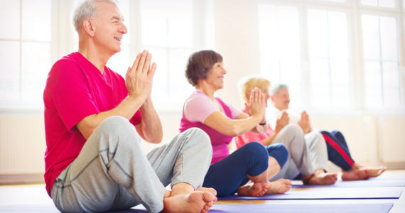 Yoga for Seniors Glasgow